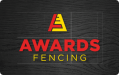 AwardsFencing showcase logo